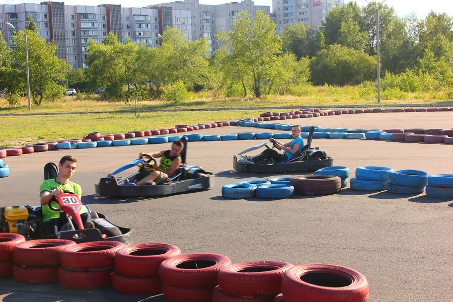 Competitive karting team time sends our team to the extreme!