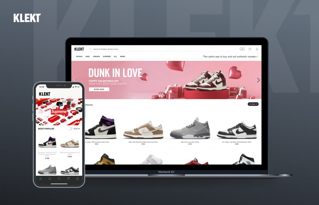 e-commerce site and app